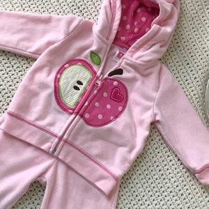 Other - 6 M Carter's soft pink set